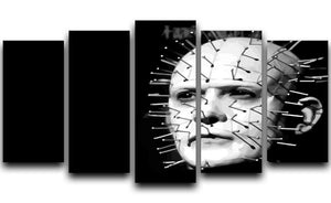 Hellraiser Pinhead 5 Split Panel Canvas  - Canvas Art Rocks - 1