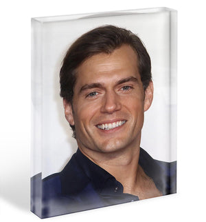 Henry Cavill Acrylic Block - Canvas Art Rocks - 1