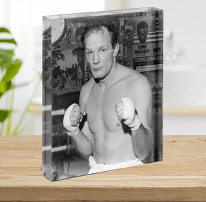 Henry Cooper boxer Acrylic Block - Canvas Art Rocks - 2