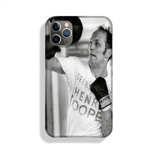 Henry Cooper in training Phone Case iPhone 11 Pro Max