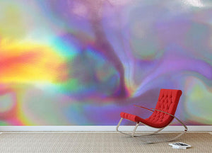 Holographic texture 2 Wall Mural Wallpaper - Canvas Art Rocks - 2