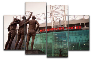 Holy Trinity Old Trafford 4 Split Panel Canvas  - Canvas Art Rocks - 1