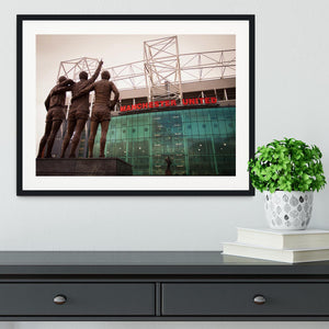 Holy Trinity Old Trafford Framed Print - Canvas Art Rocks - 1