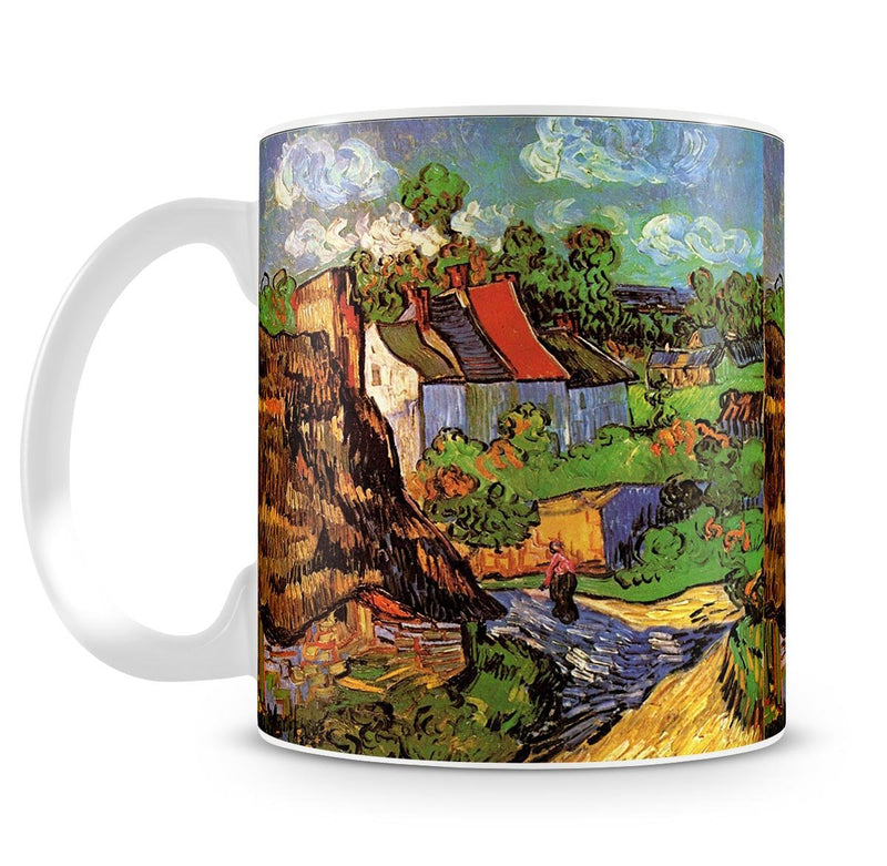 Houses in Auvers by Van Gogh Mug - Canvas Art Rocks - 4
