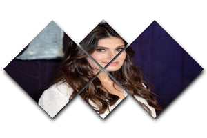 Idina Menzel 4 Square Multi Panel Canvas - Canvas Art Rocks - 1