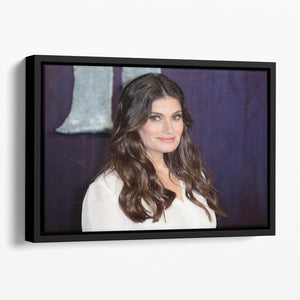 Idina Menzel Floating Framed Canvas - Canvas Art Rocks - 1