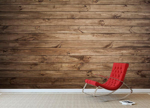 Image of wood texture Wall Mural Wallpaper - Canvas Art Rocks - 2