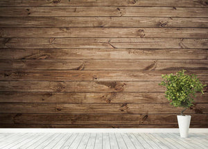 Image of wood texture Wall Mural Wallpaper - Canvas Art Rocks - 4