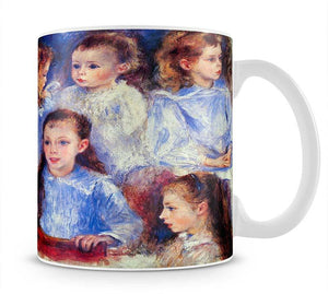 Images of childrens character heads by Renoir Mug - Canvas Art Rocks - 1