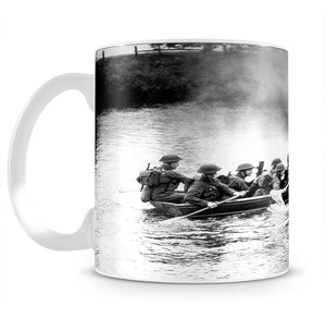 Infantry brigade assault boat drill Mug - Canvas Art Rocks - 2