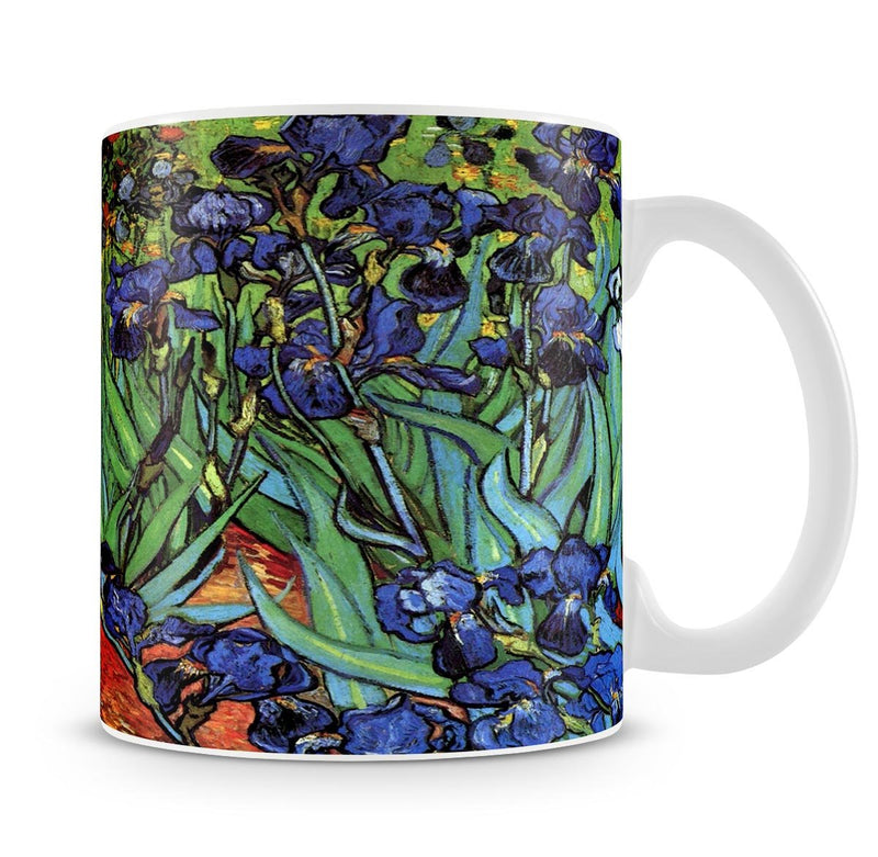 Irises 2 by Van Gogh Mug - Canvas Art Rocks - 4