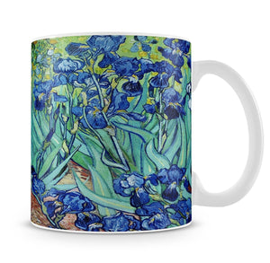 Irises by Van Gogh Mug - Canvas Art Rocks - 4