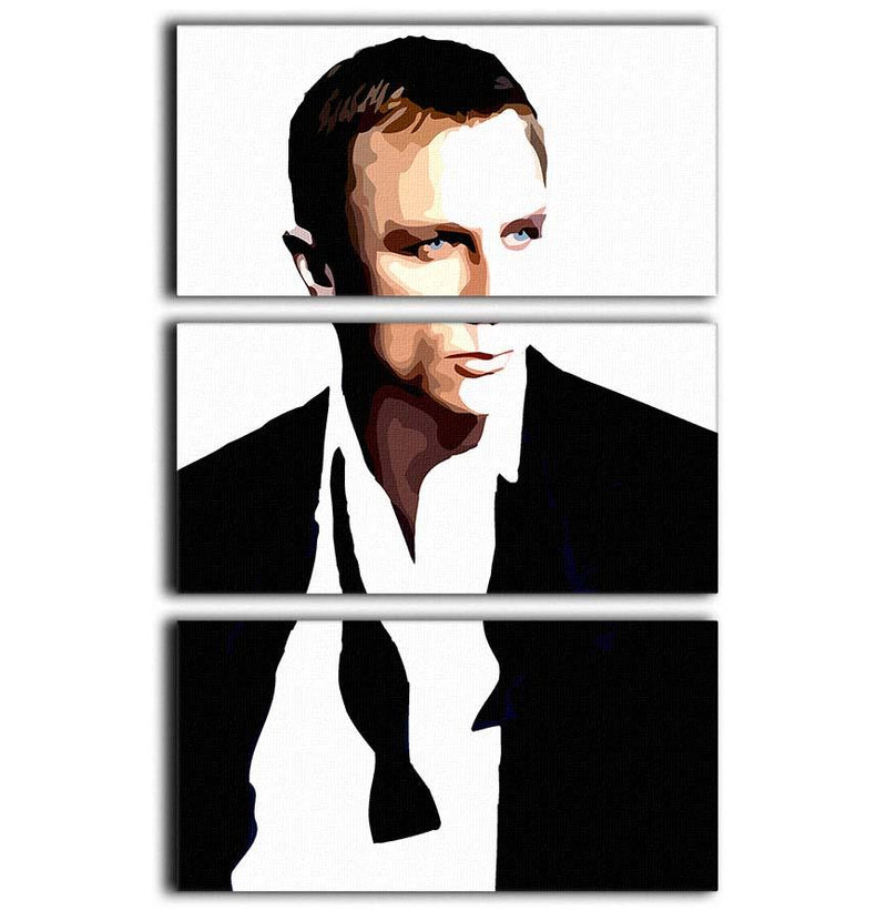 James Bond Casino Royale 3 Split Panel Canvas Print - Canvas Art Rocks - 1