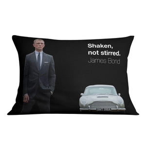 James Bond Shaken Not Stirred Cushion