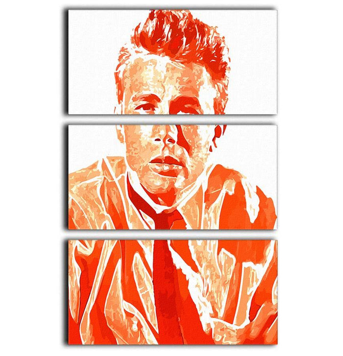 James Dean 3 Split Panel Canvas Print