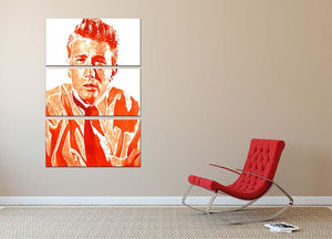 James Dean 3 Split Panel Canvas Print - Canvas Art Rocks - 2