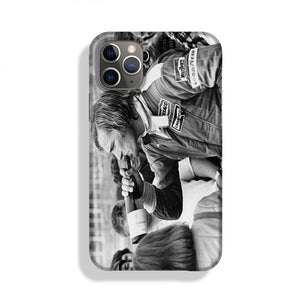 James Hunt swigging champagne Phone Case iPhone 11 Pro Max
