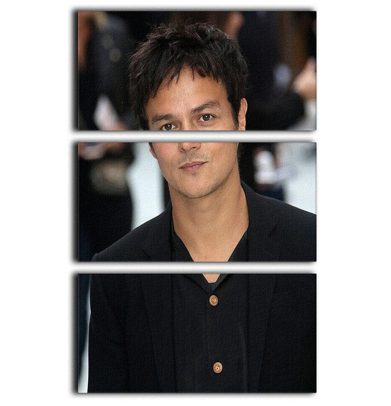 Jamie Cullum 3 Split Panel Canvas Print - Canvas Art Rocks - 1