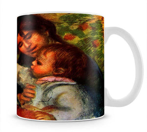 Jean Renoir and Gabrielle by Renoir Mug - Canvas Art Rocks - 1