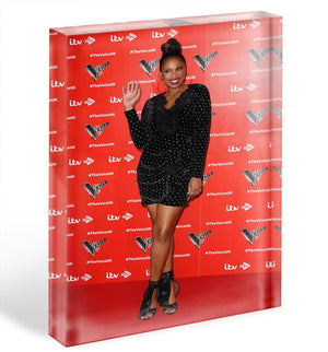 Jennifer Hudson Acrylic Block - Canvas Art Rocks - 1