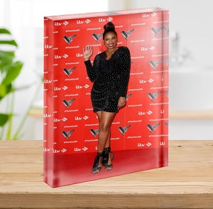 Jennifer Hudson Acrylic Block - Canvas Art Rocks - 2