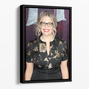 Jennifer Lee Floating Framed Canvas - Canvas Art Rocks - 1