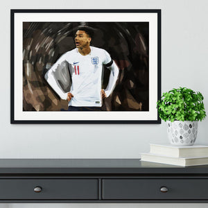 Jesse Lingard England Framed Print - Canvas Art Rocks - 1