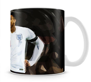 Jesse Lingard England Mug - Canvas Art Rocks - 1