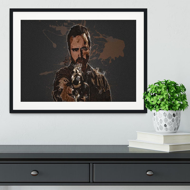 Jesse Pinkman Breaking Bad Framed Print - Canvas Art Rocks - 1