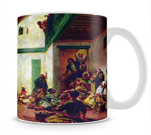 Jewish wedding after Delacroix by Renoir Mug - Canvas Art Rocks - 1