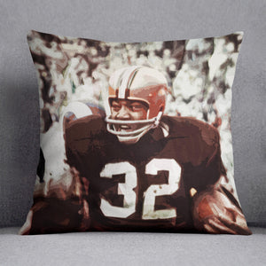 Jim Brown Cleveland Browns Cushion