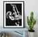 Jimmy Page of Led Zeppelin Framed Print