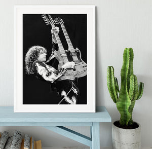 Jimmy Page of Led Zeppelin Framed Print - Canvas Art Rocks - 5
