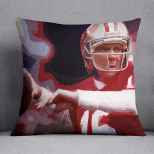 Joe Montana San Francisco Cushion