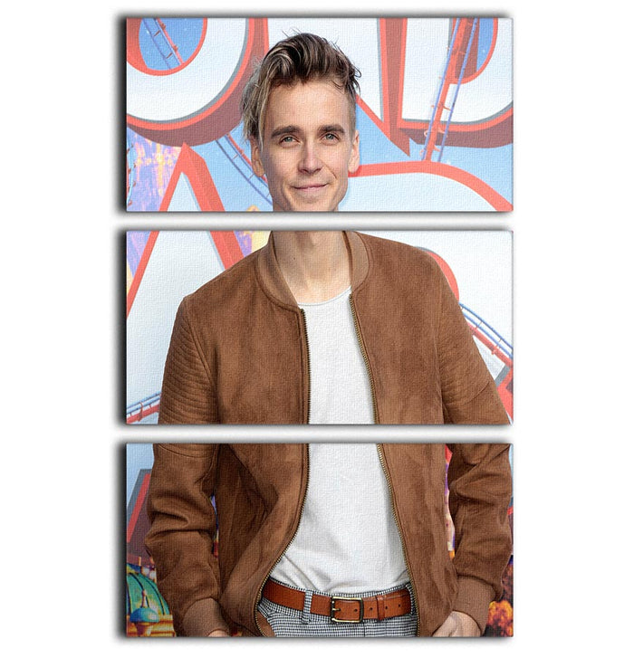 Joe Sugg 3 Split Panel Canvas Print