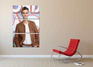 Joe Sugg 3 Split Panel Canvas Print - Canvas Art Rocks - 2