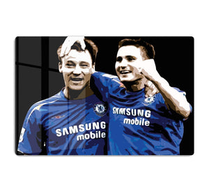 John Terry and Frank Lampard HD Metal Print