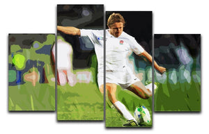 Jonny Wilkinson 4 Split Panel Canvas  - Canvas Art Rocks - 1