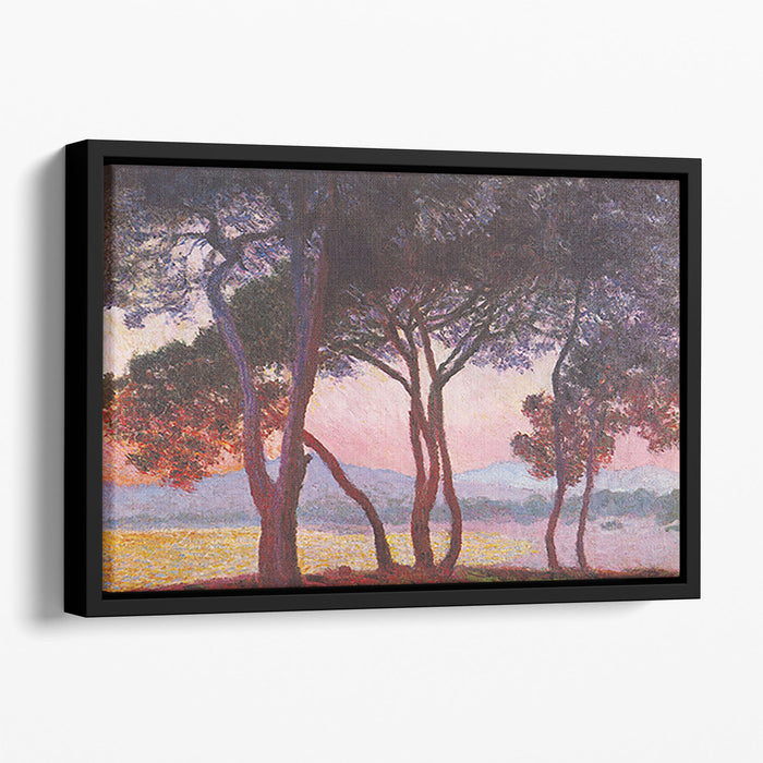 Juan les Pins by Monet Floating Framed Canvas