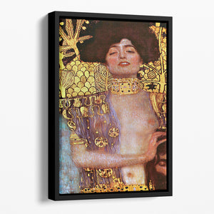 Judith by Klimt Floating Framed Canvas