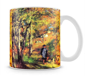 Jules le Coeur and his dogs by Renoir Mug - Canvas Art Rocks - 1