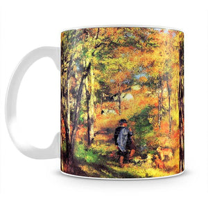 Jules le Coeur and his dogs by Renoir Mug - Canvas Art Rocks - 2