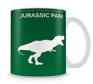 Jurassic Park Wheres The Goat Minimal Movie Mug - Canvas Art Rocks - 1
