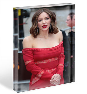 Katharine McPhee Acrylic Block - Canvas Art Rocks - 1