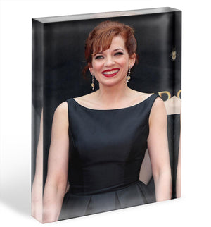 Katherine Parkinson Acrylic Block - Canvas Art Rocks - 1