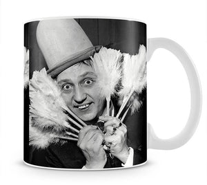 Ken Dodd with tickling sticks Mug - Canvas Art Rocks - 1