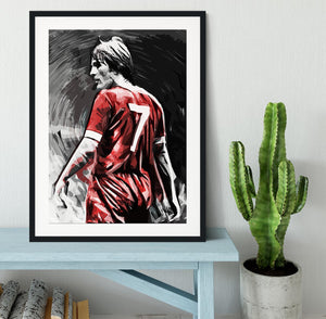 Kenny Dalglish Framed Print - Canvas Art Rocks - 1
