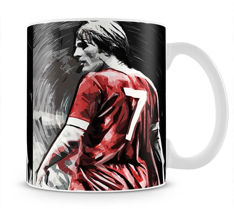 Kenny Dalglish Mug - Canvas Art Rocks - 1