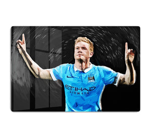 Kevin De Bryne Man City HD Metal Print