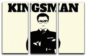 Kingsman 3 Split Panel Canvas Print - Canvas Art Rocks - 1